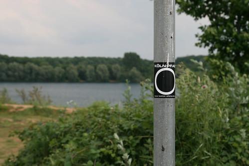 Kölnpfad-Markierung