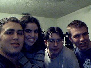 Nate, Bekah, Adam, and Me in High School
