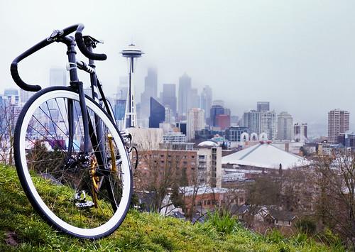 My very own track bike... Kilo Frameset.