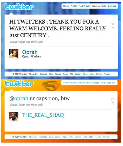 Shaq to Oprah: You're Doing It Wrong