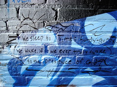 graffiti Annie Dillard quote from Holy the Fir...