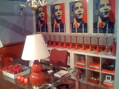 An Obama-inspired bedroom