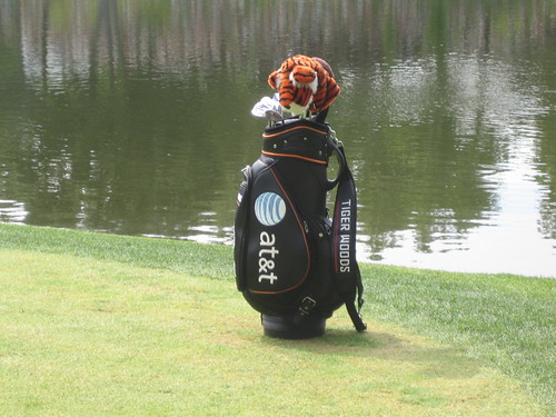 Tigers Golf Bag. I was THAT close to it.