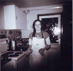 Diane in the Kitchen in 1970