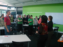 First Design Workshop Warm-Up by CCL Staff, on Flickr