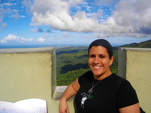 At El Yunque in PR in Feb.