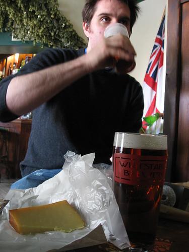 BYOFood avec une bière de Whitstable