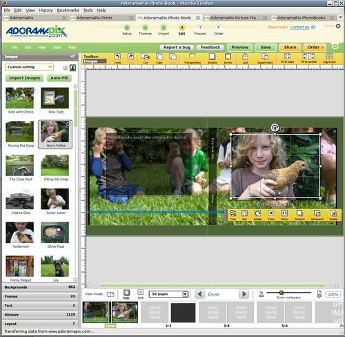 Adoramapix Photo Book Builder