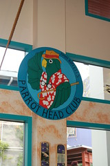 Jimmy Buffett's Parrot Head Club Sign