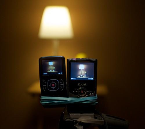 Kodak Zx1/Zi6 low light test