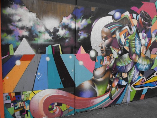 Amazing Turk Street Mural START