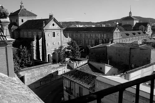 Vistas desde el colegio de Málaga (I)