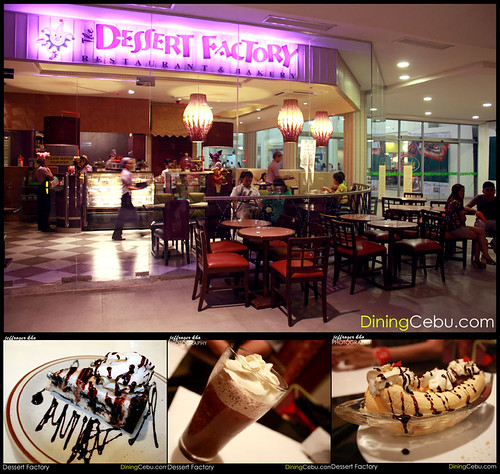 Dessert Factory Bakery and Restaurant in Terraces Ayala Cebu Philippines