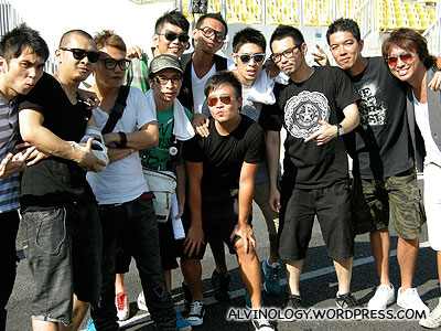 Royston Tan, Ben Yeo and Chou Pi Jiang