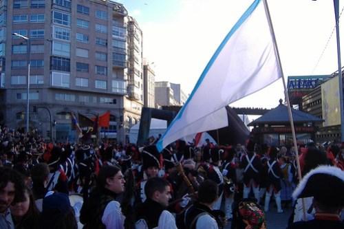 Celebración de la Reconquista de Vigo 2009