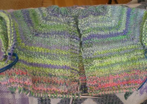 Becca's Monet sweater