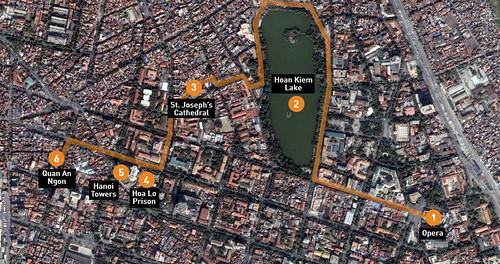 A half-day walk through Hanoi