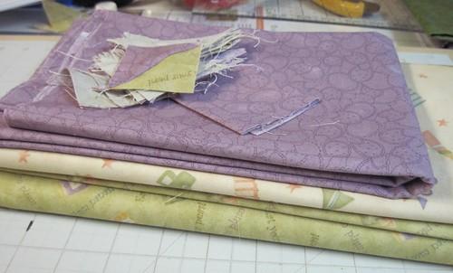 Baby Thistle Quilt Fabrics