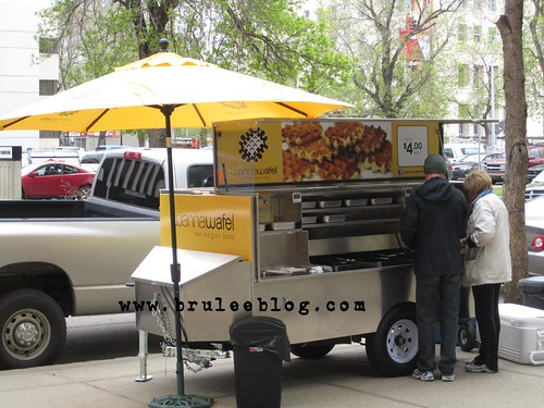 Wannawafel cart