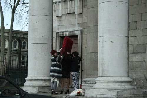 weird happenings at a church in shoreditch