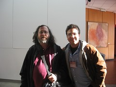 my photo with Richard Stallman