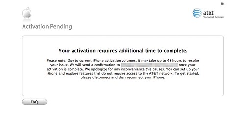 AT&T FTL, as they say.