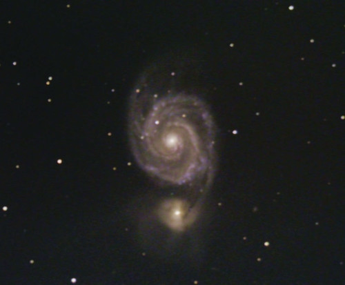 M51-The Whirlpool Galaxy for DSS Tutorial