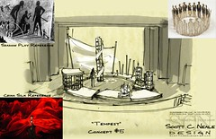 Scott Neales design concept for The Tempest (coming in 2009 directed by Alec Wild)
