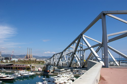 Bridge over the marina