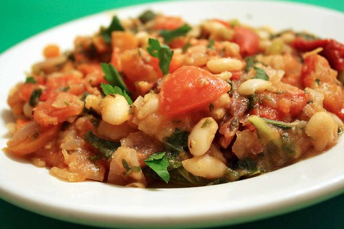 Stewed White Beans