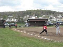 B's baseball game 5.1.09