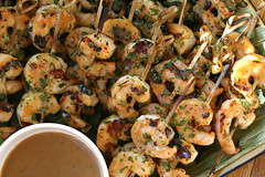 curried minted grilled shrimp 2