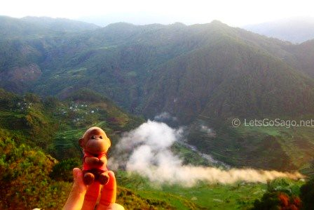 Sago with the Banga-an Rice Terraces Valley backdrop