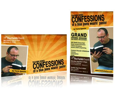 Confessions Grand Opening Postcard