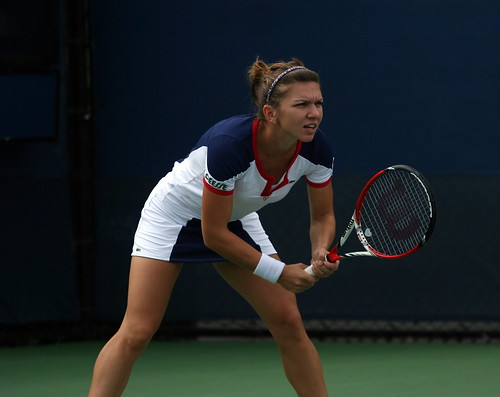 Simona Halep (ROU) by robbiesaurus, on Flickr