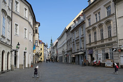 Venturska street in Bratislava