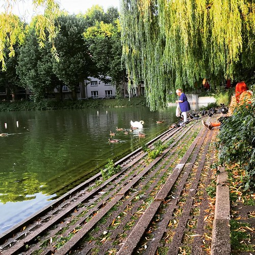 Vogelfrau  @ #0711 #Stuttgart #Feuersee
