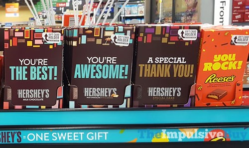 Spotted On Shelves Hershey S Gift Card Holders The Impulsive Buy