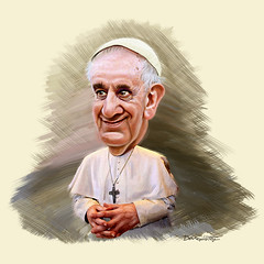 Pope Francis - Caricature