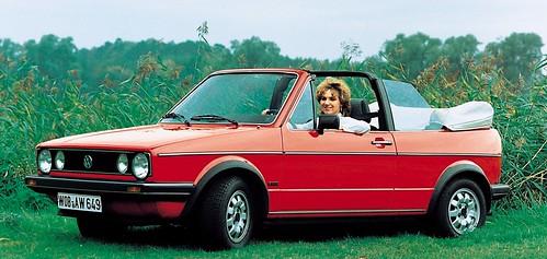 VW Golf cabrio 1979