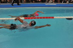 DIANA  NYAD  Swim  For  Relief  NYC   -     He...