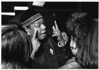 Dr. Maya Angelou Visits Wheelock College, Octo...
