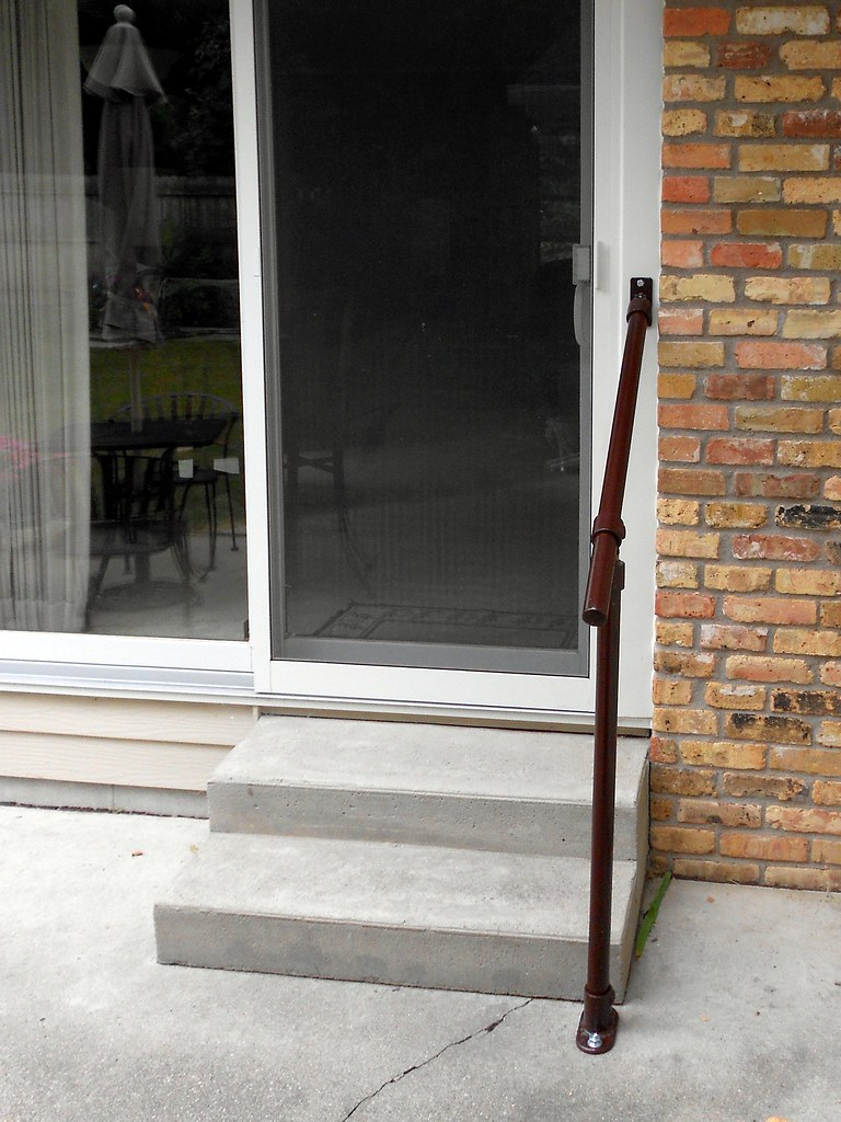 Concrete Steps Handrail Kits