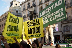 Free The Arctic 30 - Protest in Madrid 20131005