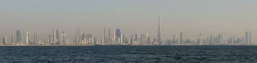 Skyline Dubai (mitte)