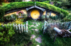 Hobbit House from Lord of the Rings by Michael...