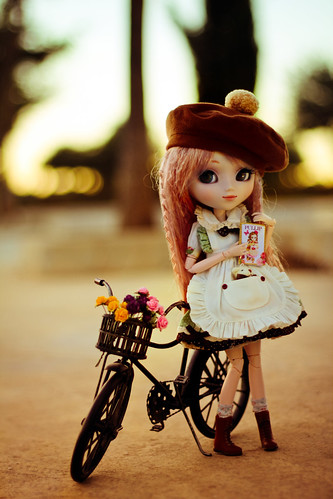 flowers bike canon photography photo outfit dress bokeh contest emma sanrio melody groove pullip lovable bhc 600d my hysl pullipcon
