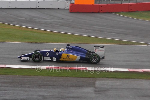 Marcus Ericsson in the 2015 British Grand Prix at Silverstone