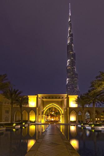 Burj Khalifa und Souk al Bahar