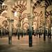 Interior da catedral de Córdoba (antiga mesquita)